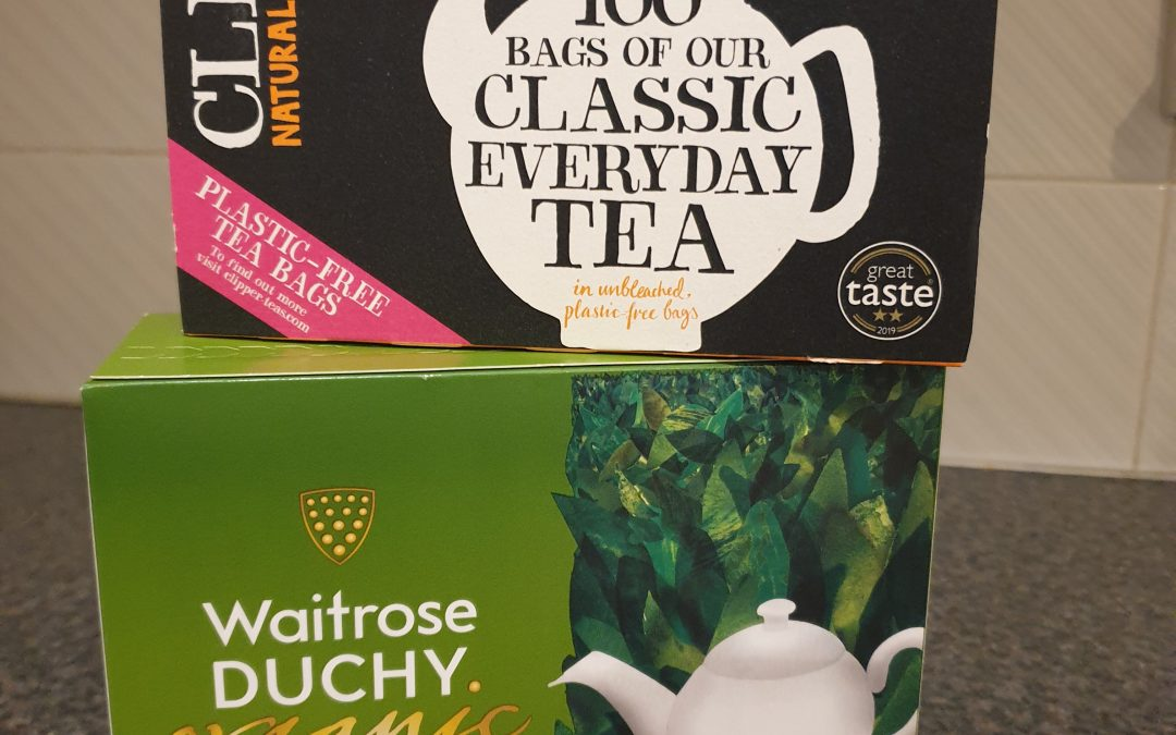 Ditch the plastic!  The eco-friendly teabags are here to stay!